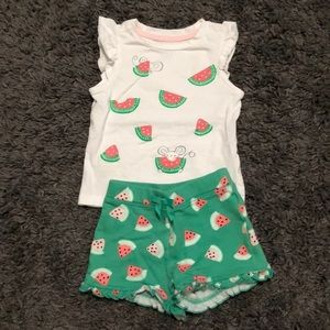 Little Girl Summer Outfit